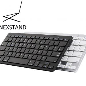 Oplaadbaar Bluetooth keyboard zwart
