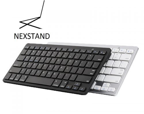 Oplaadbaar Bluetooth keyboard zwart